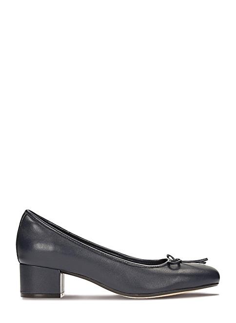 Clarks Topuklu Ayakkabı Lacivert